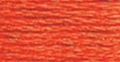 DMC Pearl Cotton Ball BRIGHT ORANGE 608 Thread