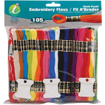 Iris Embroidery Floss Pack GIANT PACK 1265