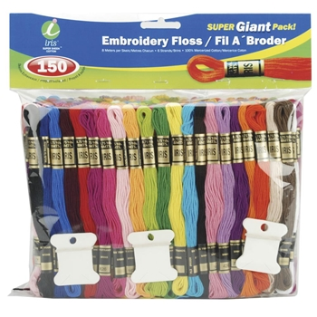 Iris Embroidery Floss Pack SUPER GIANT PACK 1270