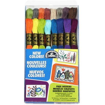 DMC Embroidery Floss Pack NEW COLORS 117F25CM16