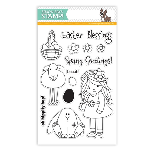 Simon Says Clear Stamps MELODY'S EASTER SSS101593 Reason To Smile Preview Image