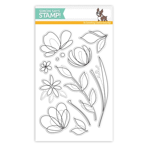 Simon Says Clear Stamps SPRING FLOWERS SSS101595 Preview Image