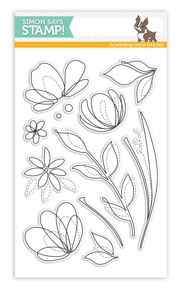 Simon Says Clear Stamps SPRING FLOWERS SSS101595 zoom image