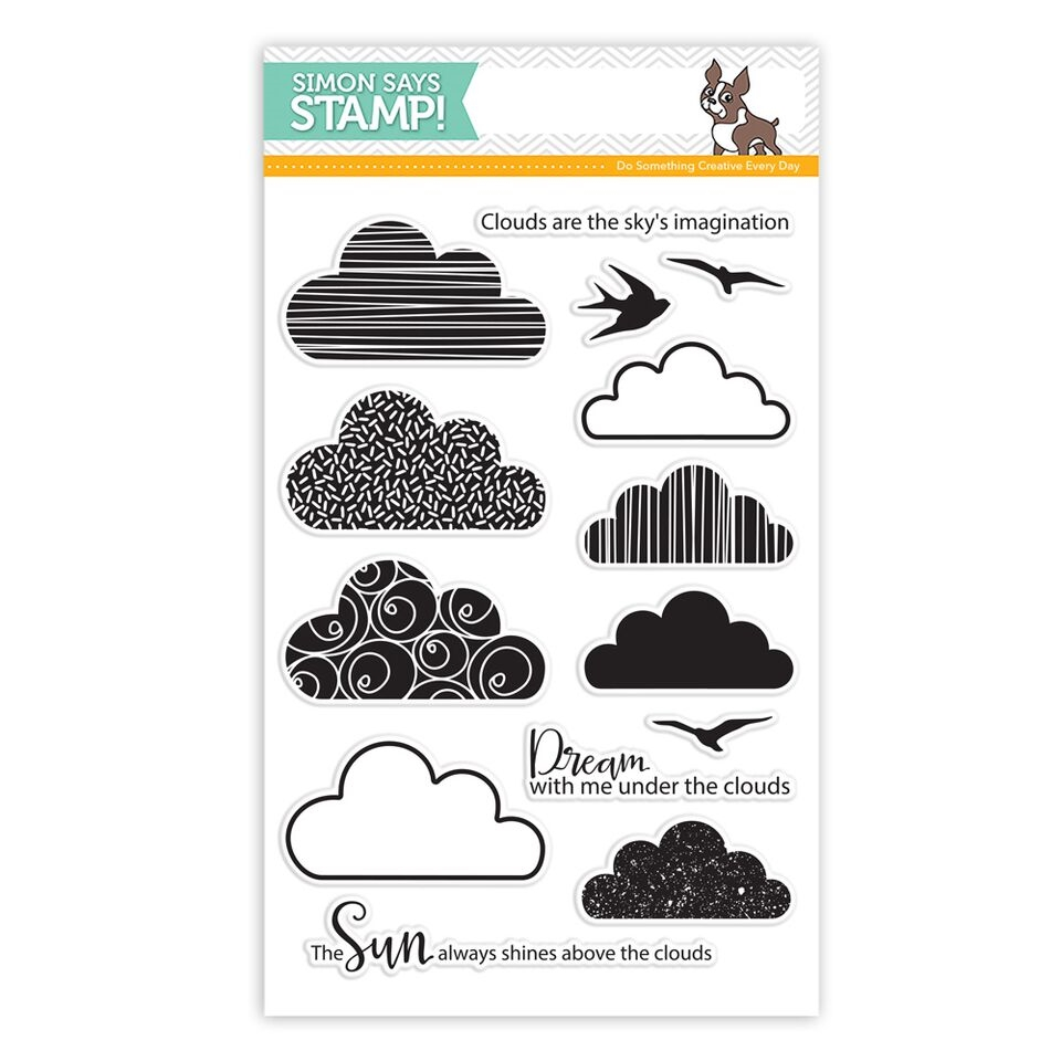 Simon Says Clear Stamps CLOUDY SKY SSS101594 Reason To Smile zoom image