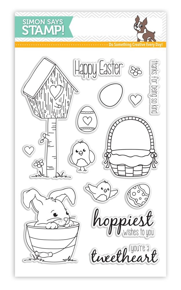 Simon Says Clear Stamps SPRINGTIME CRITTERS SSS101619 zoom image