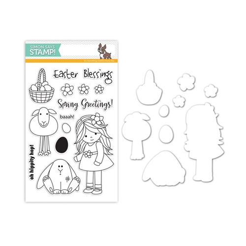 Simon Says Stamps And Dies MELODY'S EASTER Set246ME Reason To Smile Preview Image