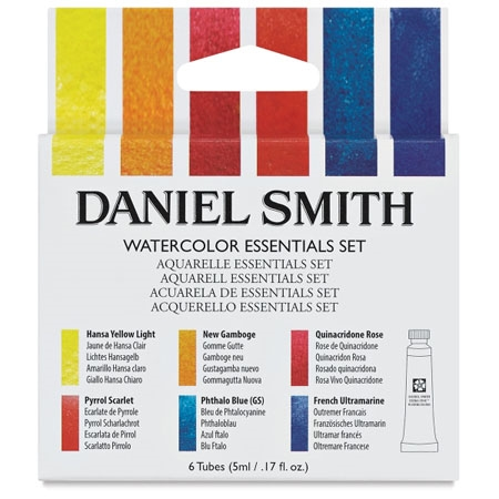 Daniel Smith EXTRA FINE Essential Watercolor Set 031955 zoom image