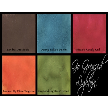 Lindy's Stamp Gang FLAT GO GREASED LIGHTING Magicals Set