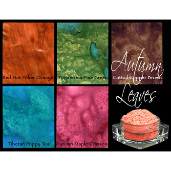 Lindy's Stamp Gang AUTUMN LEAVES Magicals Set