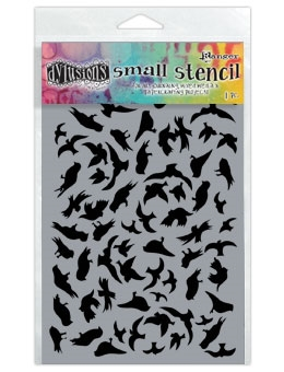 Dyan Reaveley Stencil 5 x 8 BREEZE OF BIRDS Dylusions DYS49821