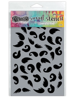 Dyan Reaveley Stencil 5 x 8 STASH OF 'TACHE Dylusions DYS49852