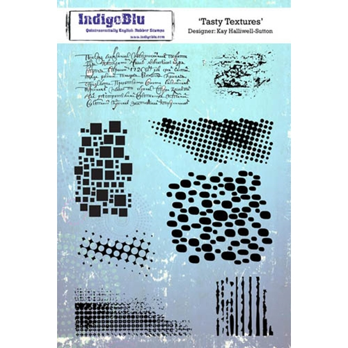 IndigoBlu Cling Stamp TASTY TEXTURES Rubber IND0217 Preview Image