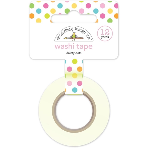 Doodlebug DAINTY DOTS Spring Garden Washi Tape 4991 Preview Image