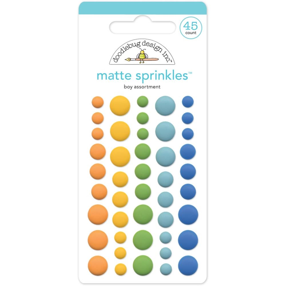 Doodlebug BOY MATTE Anchors Aweigh Sprinkles Assortment 4955 zoom image
