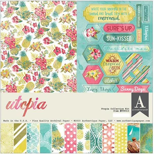 Authentique UTOPIA 12 x 12 Collection Kit UTP010* zoom image