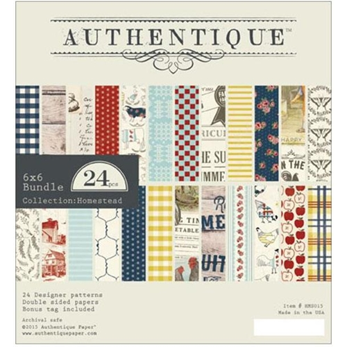 Authentique 6 x 6 HOMESTEAD Paper Pad HMS015* Preview Image