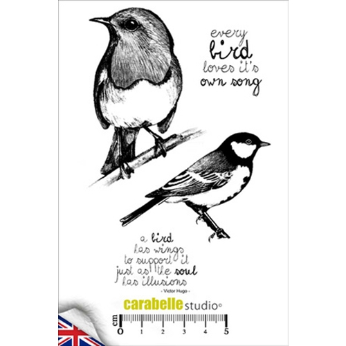 Carabelle Studio EVERY BIRD Cling Stamp SA60142E Preview Image
