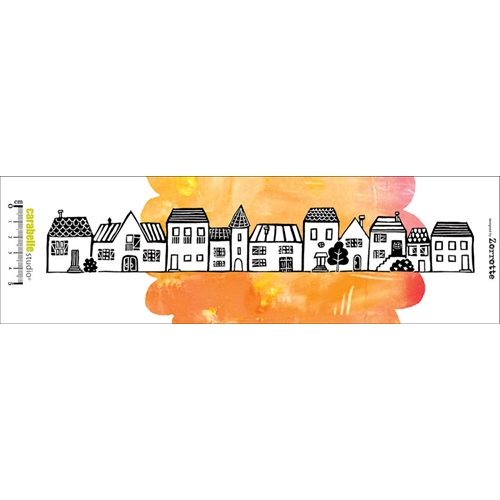 Carabelle Studio DES MAISONS BY ZORROTTE Edge Cling Stamp SED0010 Preview Image