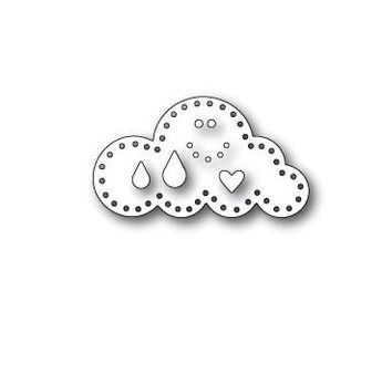 Simon Says Stamp PLUSH LITTLE CLOUD Wafer Dies S382 Spring Plush