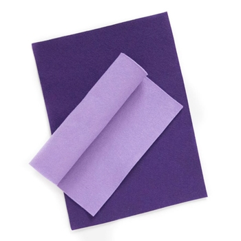 Simon Says Stamp Wool Felt Sheets PLUM PICKIN PURPLE Felt3 Spring Plush