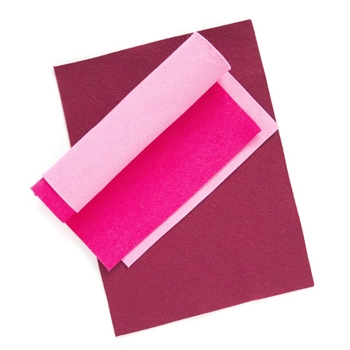 Simon Says Stamp Wool Felt Sheets LIPSTICK PARTY Felt7 Spring Plush
