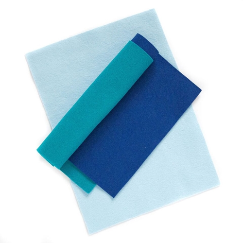 Simon Says Stamp Wool Felt Sheets OCEAN WAVES Felt9 Spring Plush Preview Image
