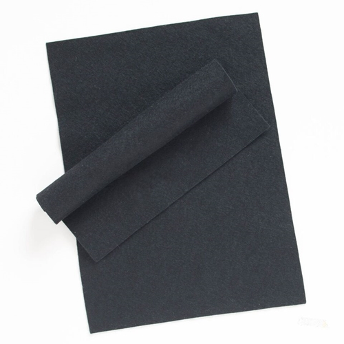 Simon Says Stamp Wool Felt Sheets BLACK Felt11 Spring Plush Preview Image