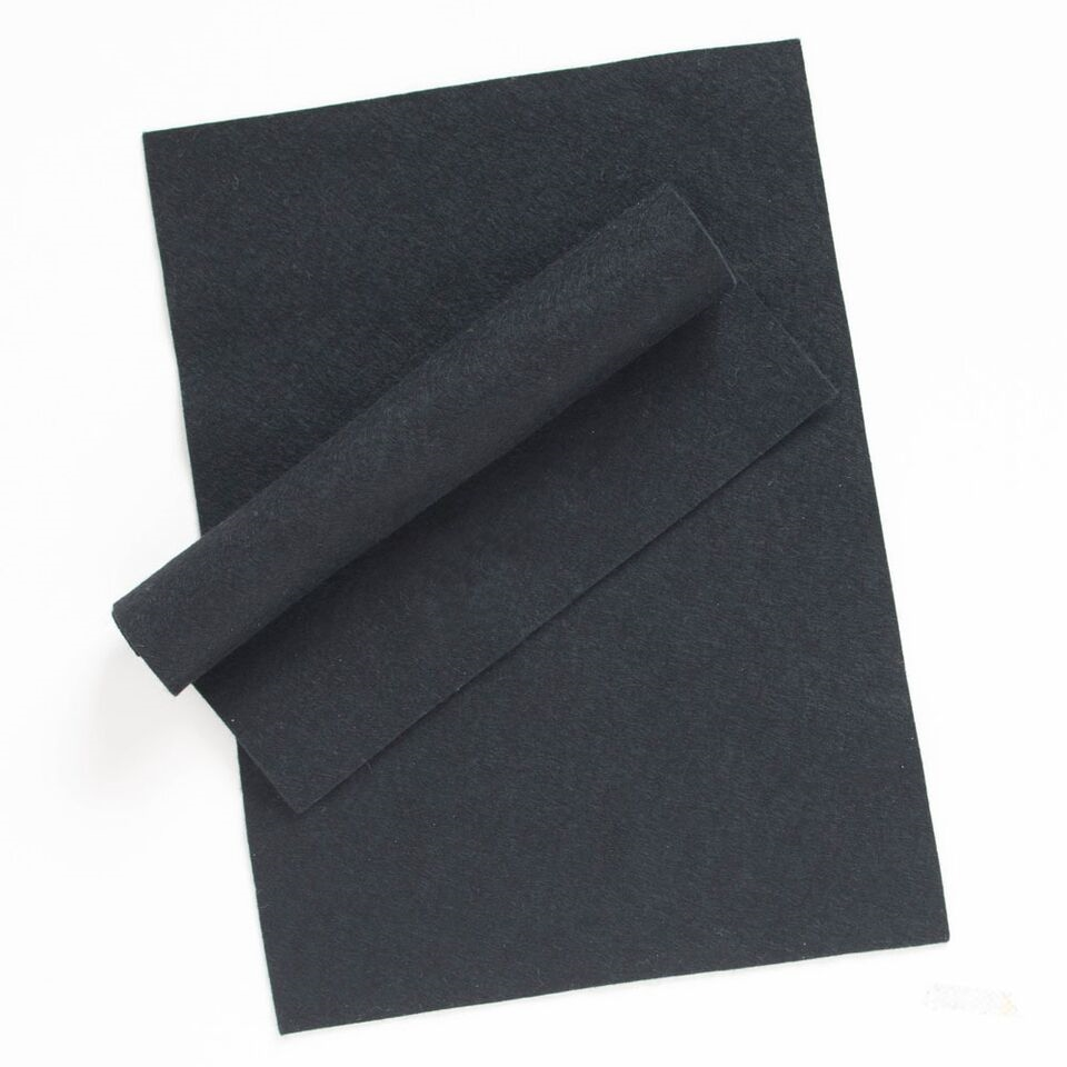 Simon Says Stamp Wool Felt Sheets BLACK Felt11 Spring Plush zoom image