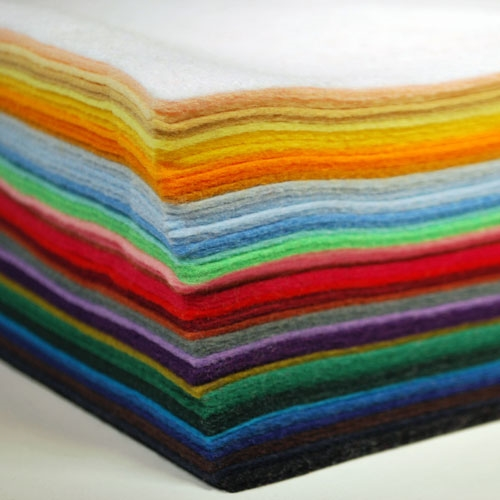Simon Says Stamp Wool Felt Sheets Huge Assortment felt50 Spring Plush Preview Image