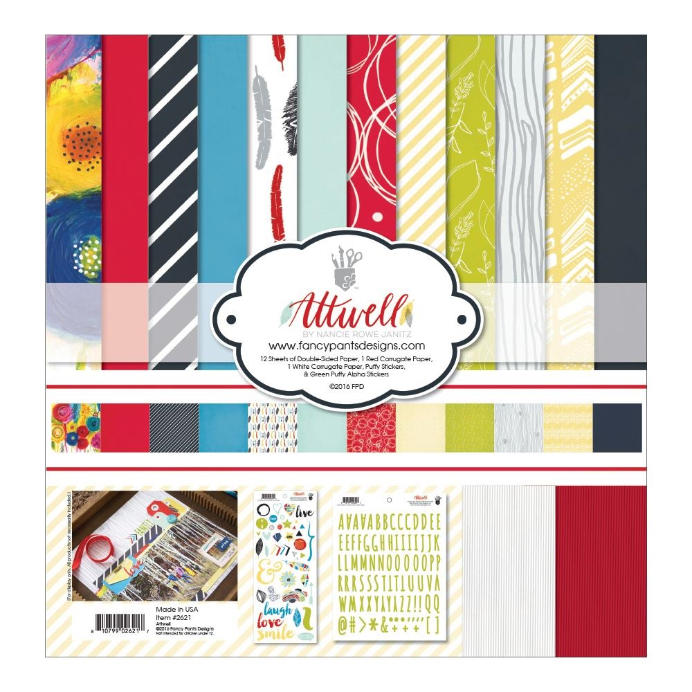 Fancy Pants ATTWELL Collection Kit 12 x 12 2621* zoom image