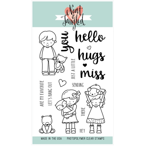 Neat and Tangled BETTER TOGETHER Clear Stamp Set NAT150 Preview Image
