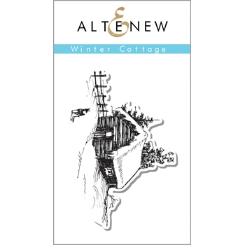 Altenew WINTER COTTAGE Clear Stamp Set ALT1119