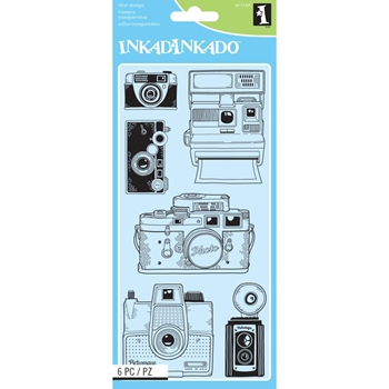 Inkadinkado Clear Stamps CAMERAS Set 60-31325