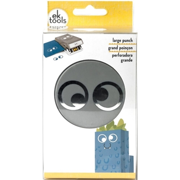 EK Success GOOGLY EYES Large Punch 54-30263