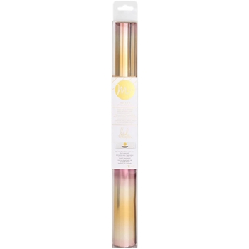 Heidi Swapp PINK AND GOLD OMBRE MINC Reactive Foil Roll 312990
