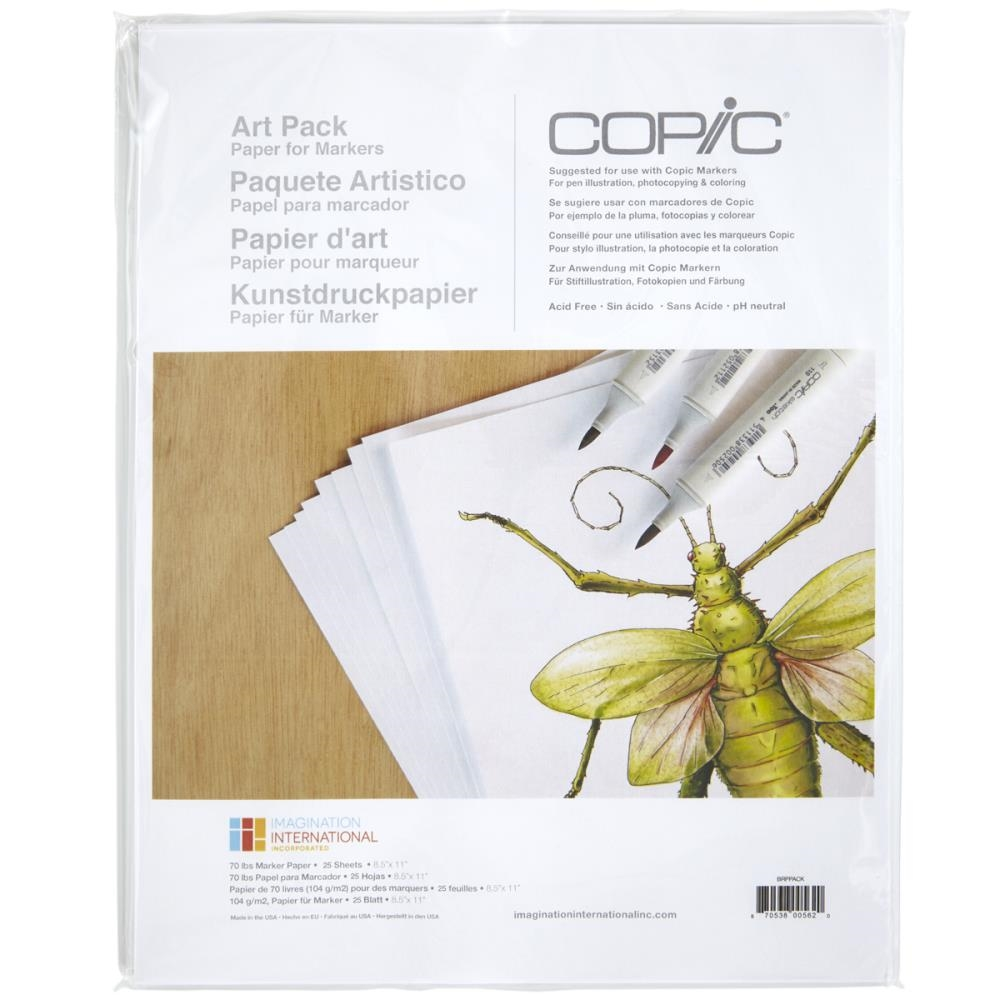 Copic Marker ART Paper Pack 005620 zoom image