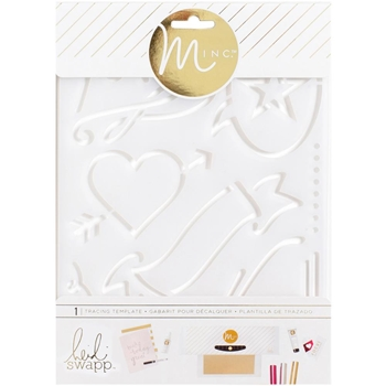 Heidi Swapp LOVE MINC Tracing Template 313013