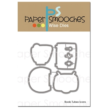 Paper Smooches BOOB TUBES ICONS Wise Dies A1D316