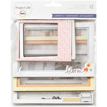 Becky Higgins American Crafts Project Life CURRENTLY Die Cut Frames 380626