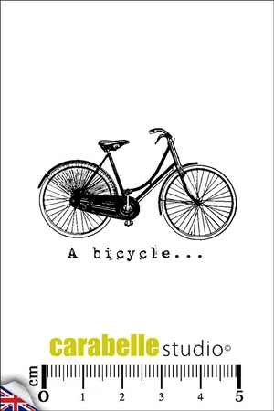 Carabelle Studio A BICYCLE Cling Stamp SMI0052E Preview Image