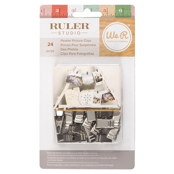 We R Memory Keepers PICTURE CLIPS Ruler Studio 660934