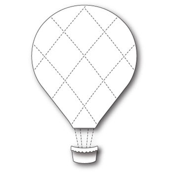 Memory Box GRAND QUILTED BALLOON Craft Die 99452