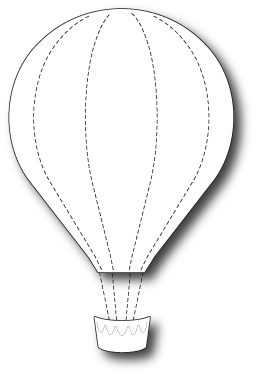 Memory Box GRAND VOYAGE BALLOON Craft Die 99462* Preview Image