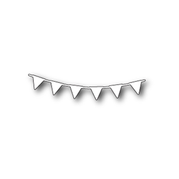 Memory Box PENNANT GARLAND Craft Die 99468