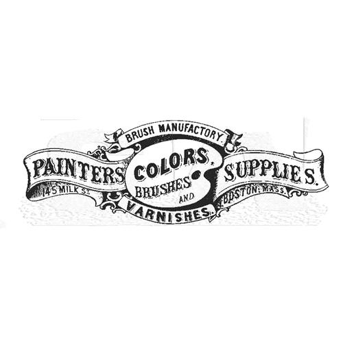 Tim Holtz Rubber Stamp PAINTER SUPPLIES Stampers Anonymous P6-2865 Preview Image