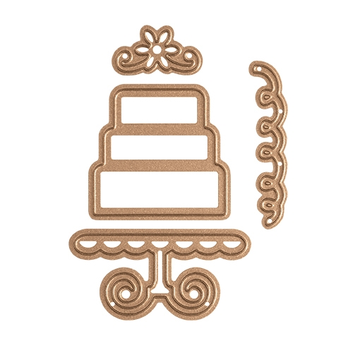 S1-006 Spellbinders LAYERED CAKE Etched Dies*  Preview Image