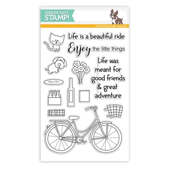 Simon Says Clear Stamps BEAUTIFUL RIDE SSS101604 My Favorite