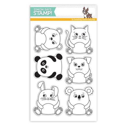 Simon Says Clear Stamps CUDDLY CRITTERS SSS101610 My Favorite Preview Image