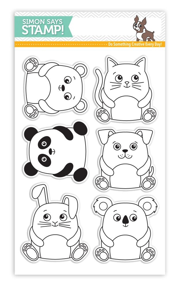 Simon Says Clear Stamps CUDDLY CRITTERS SSS101610 My Favorite zoom image