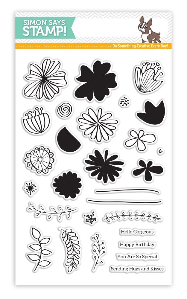 Simon Says Clear Stamps WILD BEAUTY SSS101625 My Favorite zoom image